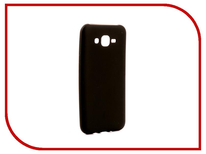 Аксессуар Чехол Samsung Galaxy J7 Neo J701 Gurdini Soft Touch Silicone Black аксессуар чехол samsung galaxy a7 2017 with love moscow silicone russia 5090
