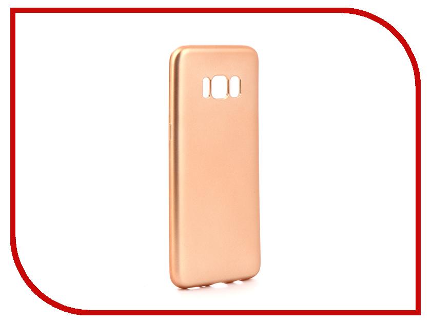 Аксессуар Чехол Samsung Galaxy S8 Gurdini Soft Touch Silicone Champagne аксессуар чехол samsung galaxy a7 2017 with love moscow silicone russia 5090