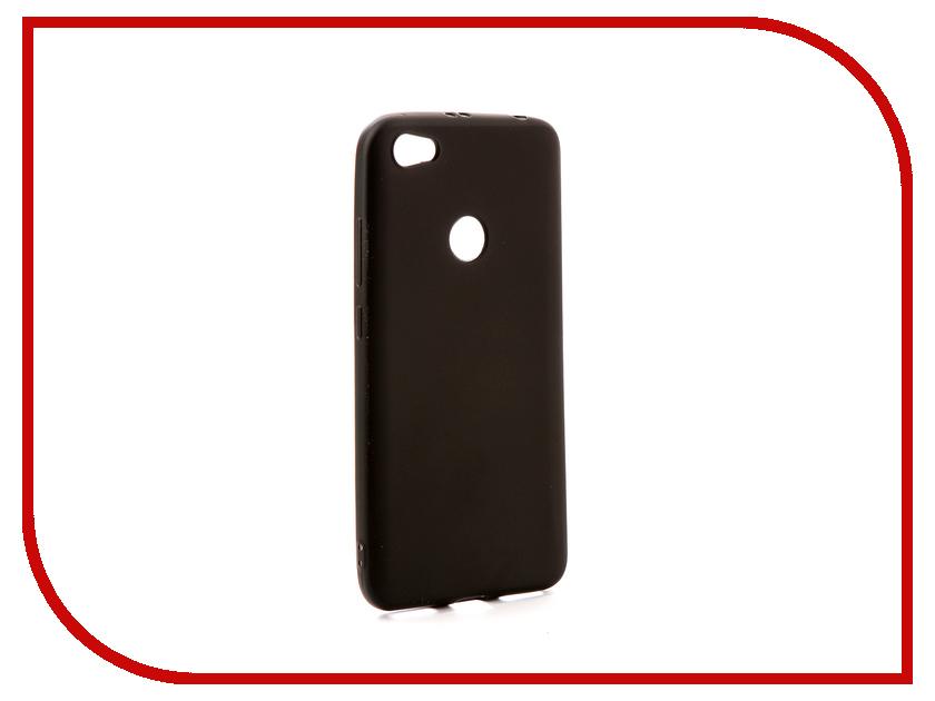 Аксессуар Чехол Xiaomi Redmi Note 5A / Note 5A Prime Gurdini Soft Touch Silicone Black аксессуар чехол xiaomi redmi 4 prime df xiflip 13