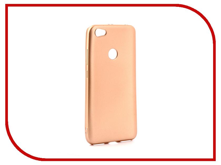 Аксессуар Чехол Xiaomi Redmi Note 5A / Note 5A Prime Gurdini Soft Touch Silicone Champagne ipaky redmi note 4x luxury metal frame чехол на телефон xiaomi redmi note 4x case cover 5 5 silicone soft caso