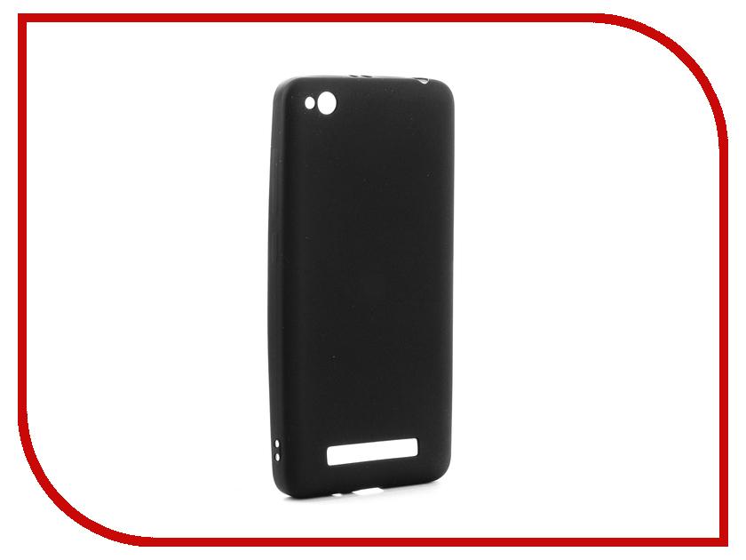 Аксессуар Чехол Xiaomi Redmi 4A Gurdini Soft Touch Silicone Black