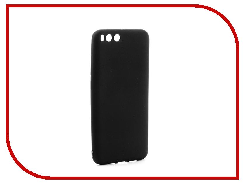 Аксессуар Чехол Xiaomi Mi6 Gurdini Soft Touch Silicone Black аксессуар чехол xiaomi mi6 brosco silicone black xm mi6 tpu black