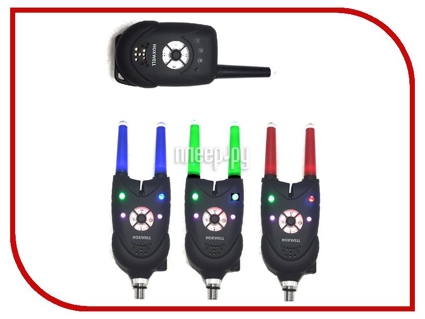 Сигнализатор поклевки Hoxwell HL 83 - Набор с пейджером 3+1