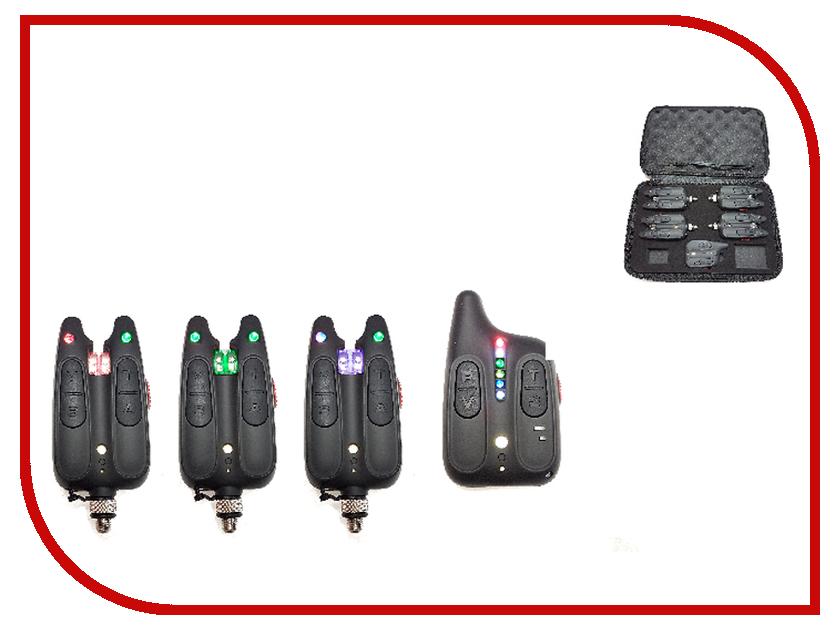 Сигнализатор поклевки Hoxwell HL 113 - Набор с пейджером 3+1