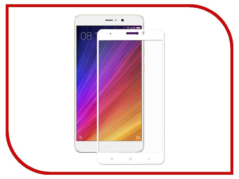 Аксессуар Стекло противоударное для Xiaomi Mi 5S Plus Gurdini 2D Full Screen 0.26mm White