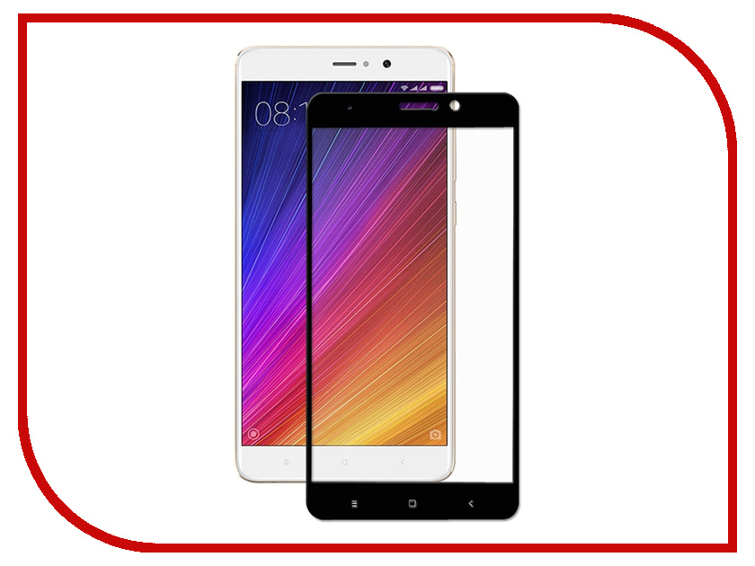 Аксессуар Стекло противоударное для Xiaomi Mi 5S Plus Gurdini 2D Full Screen 0.26mm Black 903130 не трогайте меня pattern мягкий тонкий тпу резиновый силиконовый гель дело чехол для xiaomi 5s plus