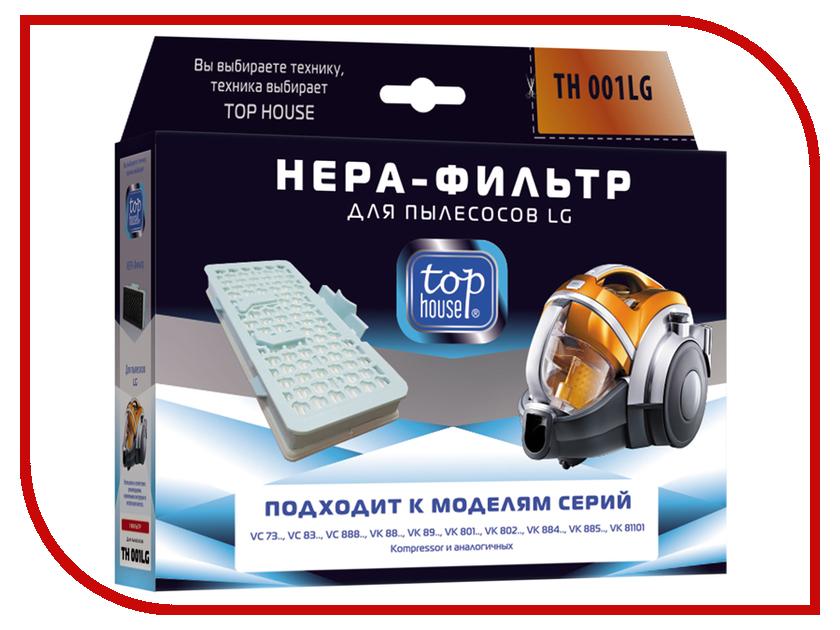 HEPA-Фильтр Top House TH 001LG для пылесосов LG 4660003392791 комплект фильтров top house th 003sm для пылесосов samsung 2 шт 4660003392838
