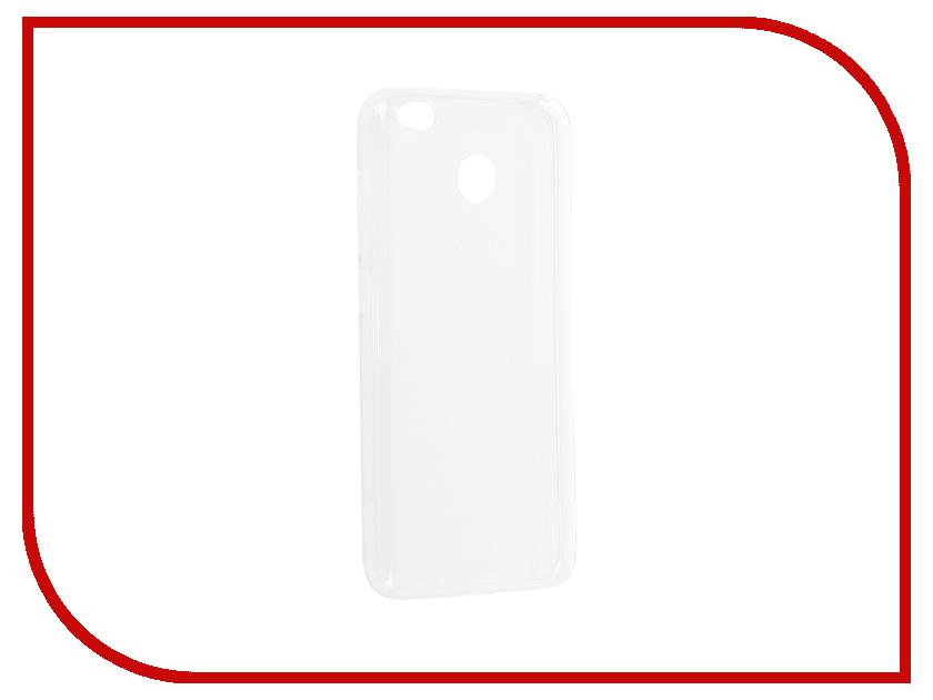 Аксессуар Чехол Xiaomi Redmi 4X Gurdini Premium Silicone Transparent защитный чехол для xiaomi redmi 4x