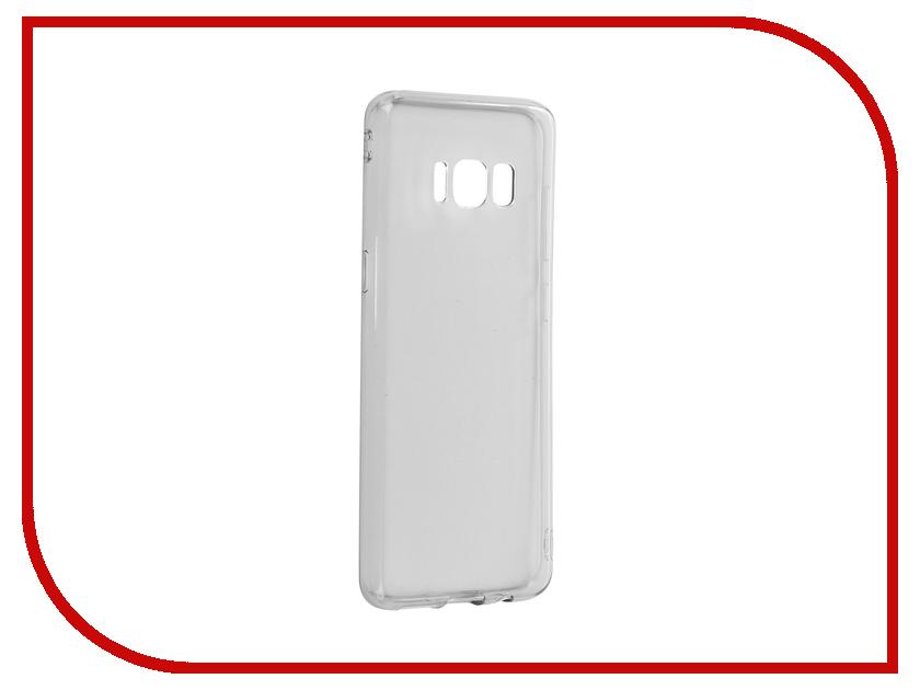 Аксессуар Чехол Samsung Galaxy S8 Gurdini Premium Silicone Transparent Black аксессуар чехол накладка samsung galaxy j3 2017 skinbox silicone chrome border 4people gold t s sgj32017 008