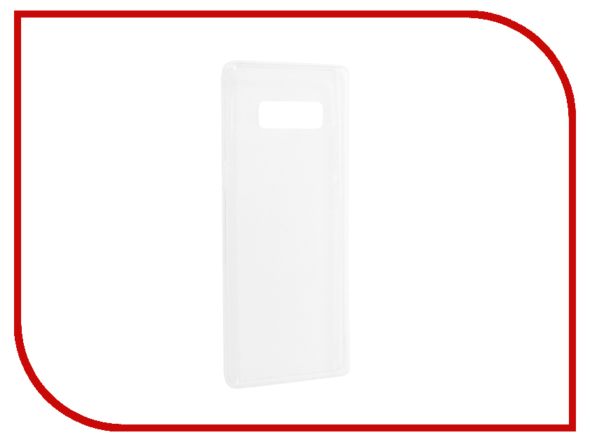Аксессуар Чехол для Samsung Galaxy Note 8 Gurdini Premium Silicone Transparent 904510 enkay anti glare matte screen protector for 10 1 samsung galaxy note n8000 n8010 transparent