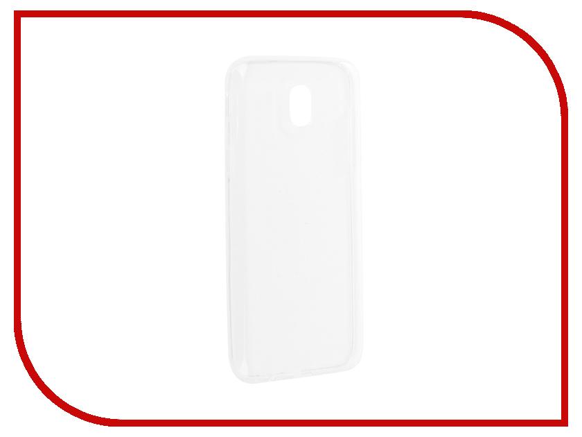 Аксессуар Чехол для Samsung Galaxy J3 J330 2017 Gurdini Premium Silicone Transparent аксессуар чехол samsung galaxy j3 2017 cojess tpu 0 3mm transparent