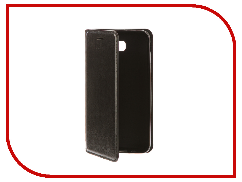 Аксессуар Чехол Samsung Galaxy J5 Prime Gurdini Premium Silicone Black чехол книжка euro line jacketcradle для samsung galaxy j5 prime черный
