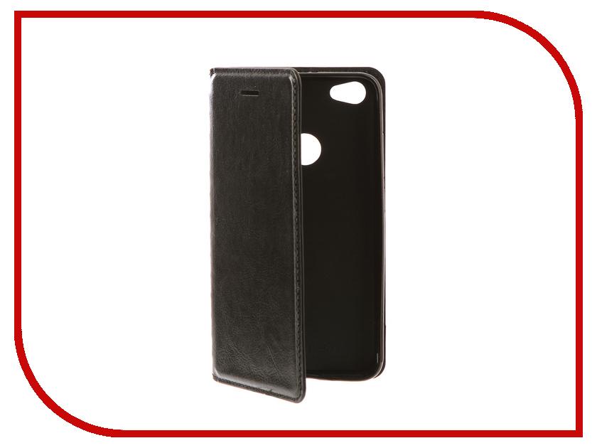 Аксессуар Чехол Xiaomi Redmi Note 5A / Note 5A Prime Gurdini Premium Silicone Black чехол для xiaomi redmi note 5a prime prime book черный