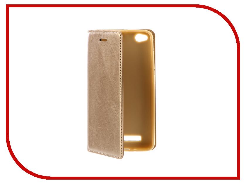 Аксессуар Чехол Xiaomi Redmi 4A Gurdini Premium Silicone Champagne аксессуар чехол xiaomi redmi 4 onext silicone transparent 70500