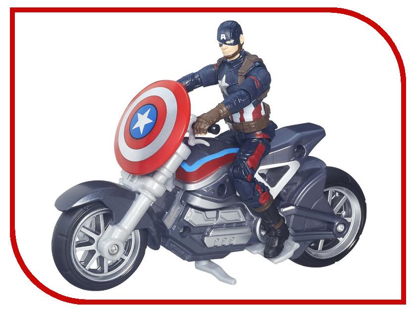 Игрушка Hasbro Avengers Civil War - Капитан Америка B6354 hasbro avengers b6354 коллекционный набор мстителей