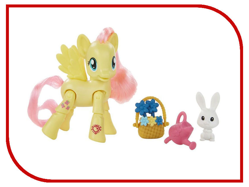 Игрушка Hasbro Пони с артикуляцией My Little Pony - Флаттершай B5675