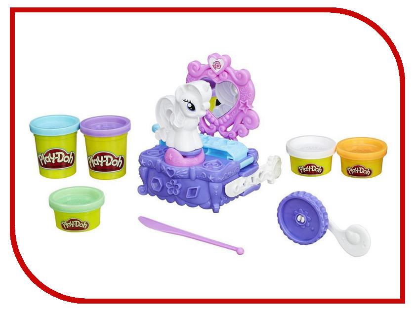 Игрушка Hasbro Play-Doh - Туалетный столик Рарити B3400 набор для лепки hasbro play doh туалетный столик рарити b3400eu4