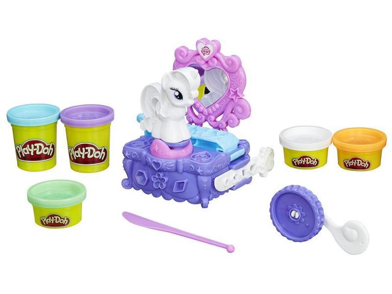Игрушка Hasbro Play-Doh - Туалетный столик Рарити B3400
