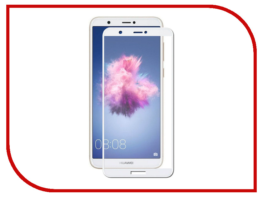 Аксессуар Защитное стекло для Huawei P Smart Svekla Full Screen White ZS-SVHWPSMT-FSWH аксессуар защитное стекло svekla full screen для apple iphone 7 8 plus white zs svap7plus fswh