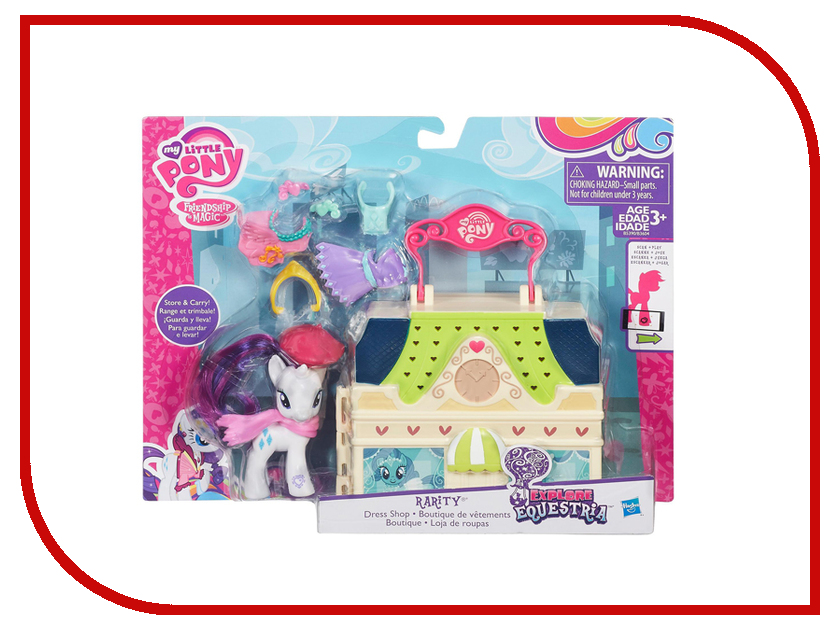 Игрушка Hasbro My Little Pony Мейнхеттен B3604 хасбро hаsbro b3604 b8074 my little pony игровой мейнхеттен rainbow dash page 6