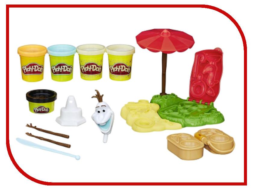 Игрушка Hasbro Play-Doh Холодное сердце - Летние приключения Олафа B3401