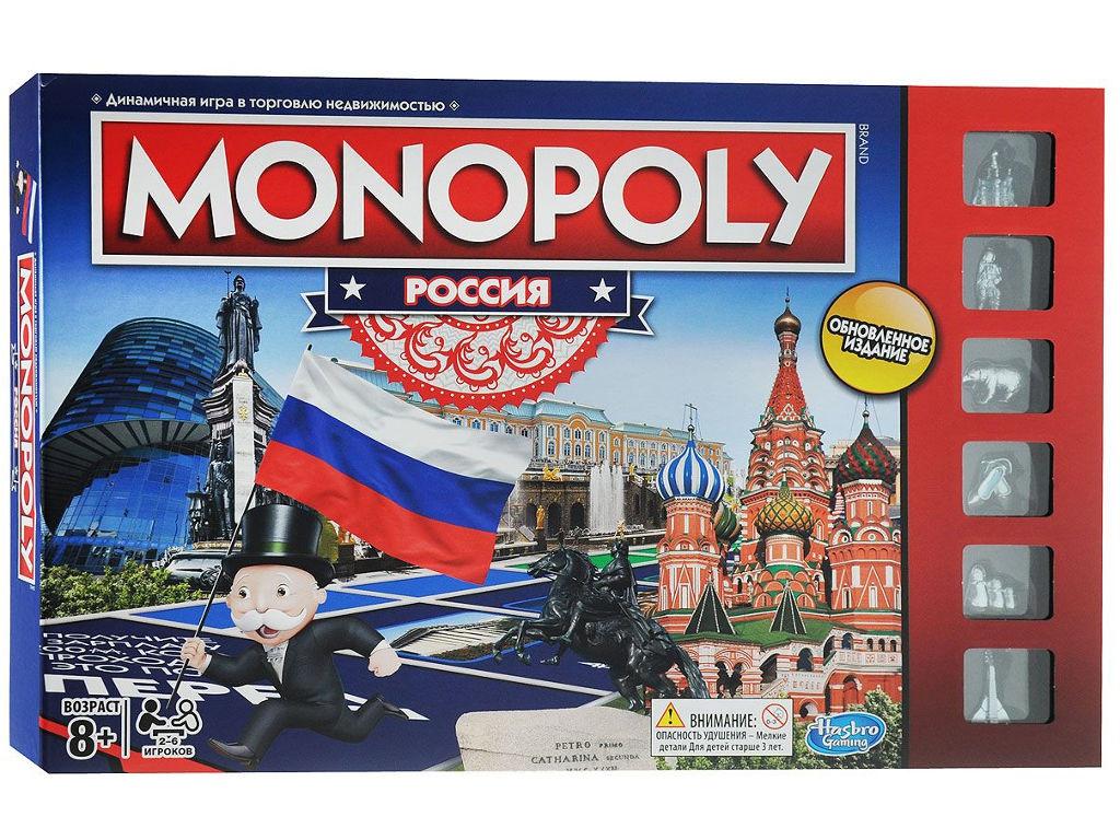 цена на Игрушка Hasbro Монополия Россия B7512