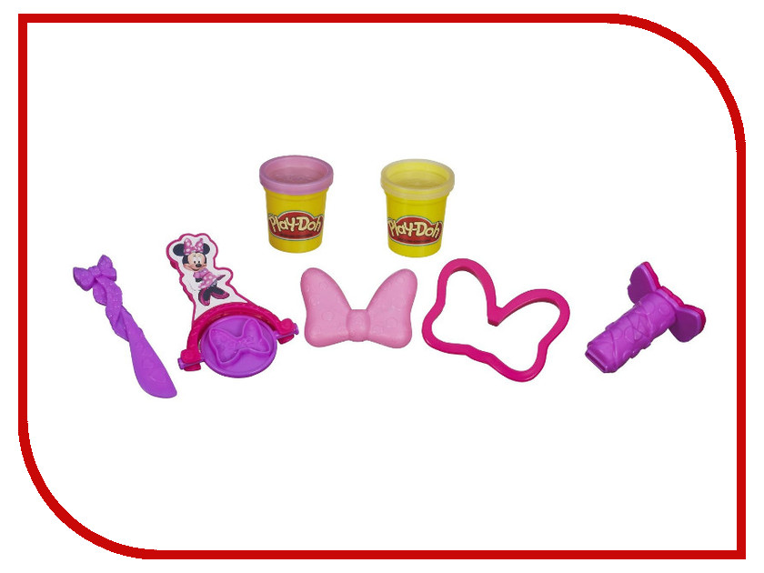 Игрушка Hasbro Play-Doh Минни Маус A6076