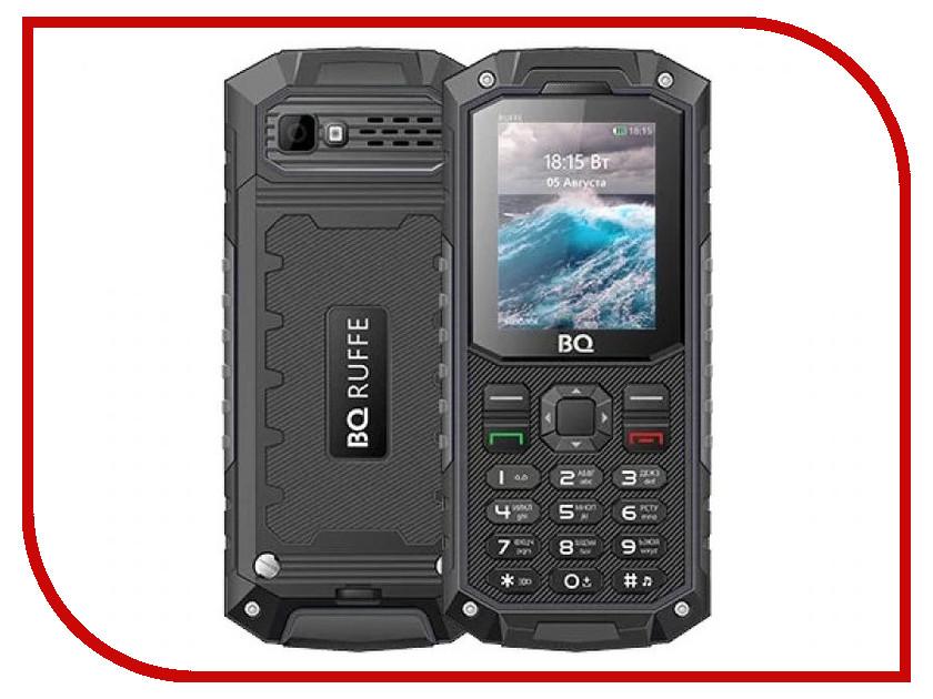 Сотовый телефон BQ BQ-2205 Ruffe Black чехол для samsung galaxy note 8 sm n950f araree airfit gp n950kdcpaaa прозрачный