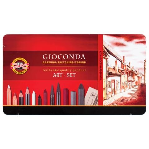 Набор художественный Koh-i-Noor Gioconda 39 предметов 8891000001PL