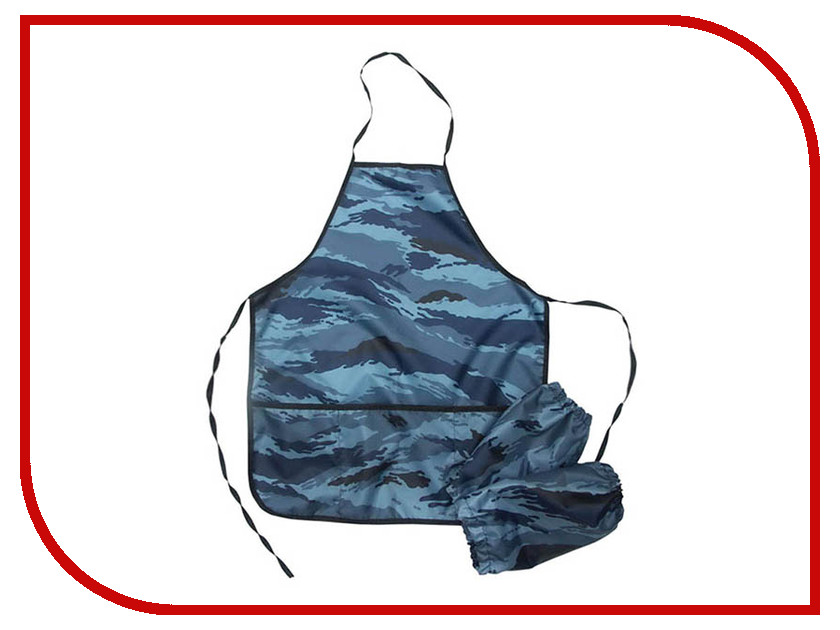 Фартук с нарукавниками ArtSpace ФН_1820 Blue Camouflage 179953 рюкзак artspace freedom bdg 16016 257827