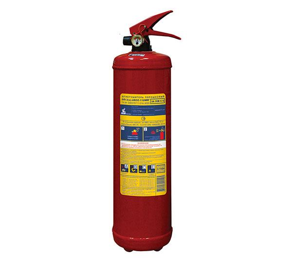 Огнетушитель Пожтехника ОП-3 (з) АВСЕ-110 Миг с повышенной огнетушащей способностью