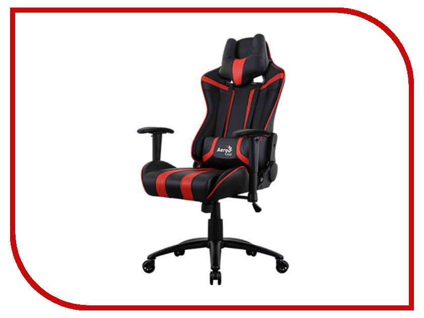 Компьютерное кресло Aerocool AC120 AIR-BR Black-Red