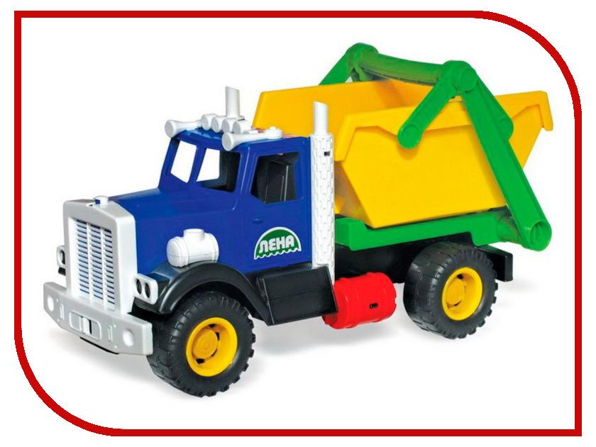 Игрушка Лена Самосвал для мусора 08831 машины лена самосвал карьерный 57005 05250
