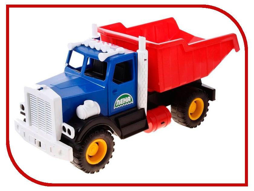 Игрушка Лена Самосвал карьерный 05250 машины спектр игрушка автомобиль самосвал карьерный