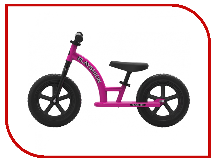Беговел Playshion Street Bike Pink