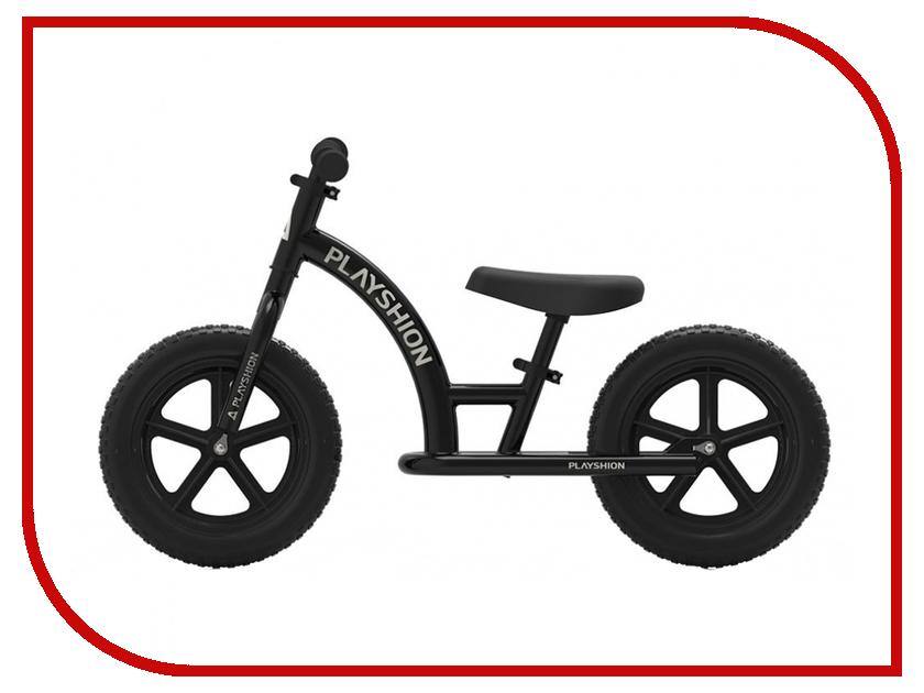 Беговел Playshion Street Bike Black