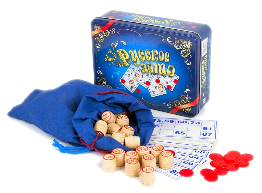 Настольная игра Десятое Королевство Лото Русское 01780
