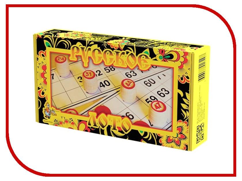 Настольная игра Десятое Королевство Лото Русское 01729 настольная игра десятое королевство лото домашние и дикие животные 02667