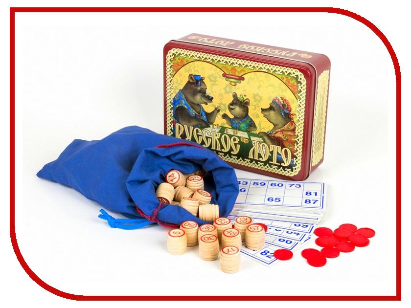 Настольная игра Десятое Королевство Лото Русское Три медведя 01777 настольная игра рав русское лото с 199