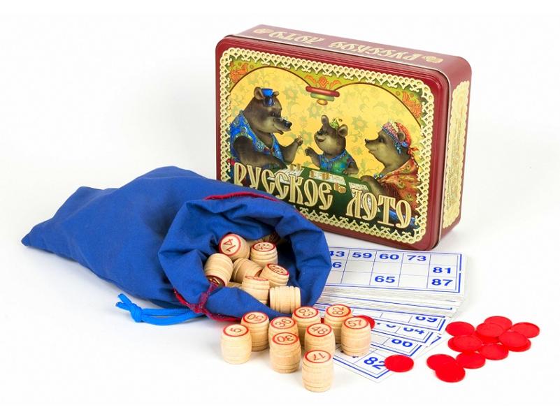 Настольная игра Десятое Королевство Лото Русское Три медведя 01777 десятое королевство лото пластмассовое мир вокруг