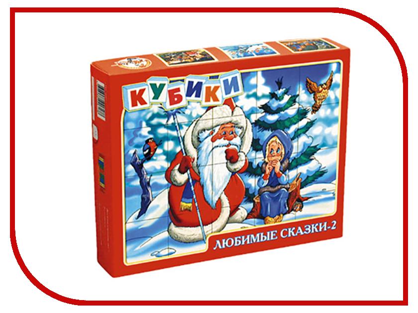 Здесь можно купить 00617  Игра Десятое Королевство Кубики Любимые сказки-2 20 шт. 00617 напольные игры
