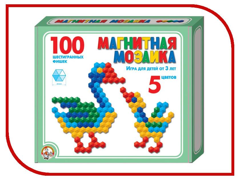 Настольная игра Десятое Королевство Мозаика магнитная 100 эл. 00961