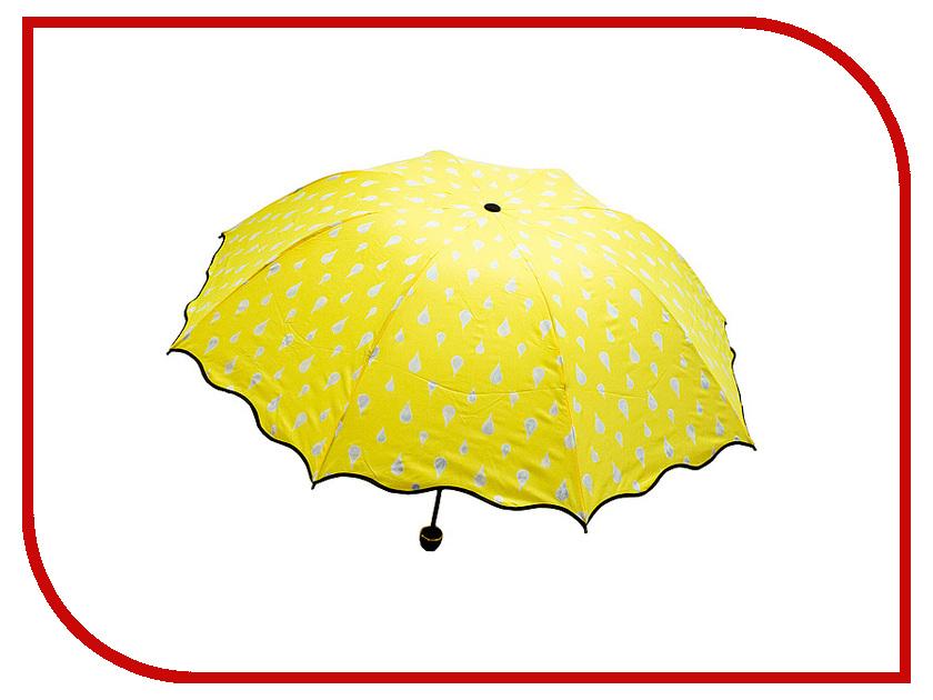 Зонт Эврика Хамелеон Капельки Yellow 98777