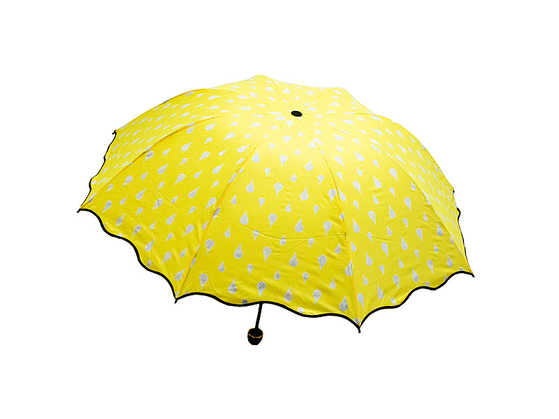 цены Зонт Эврика Хамелеон Капельки Yellow 98777