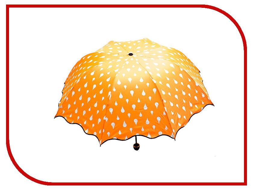 Зонт Эврика Хамелеон Капельки Orange 98776