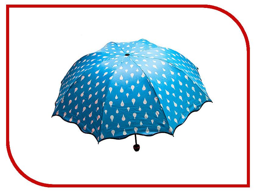 Зонт Эврика Хамелеон Капельки Blue 98778 зонт эврика 94861 white