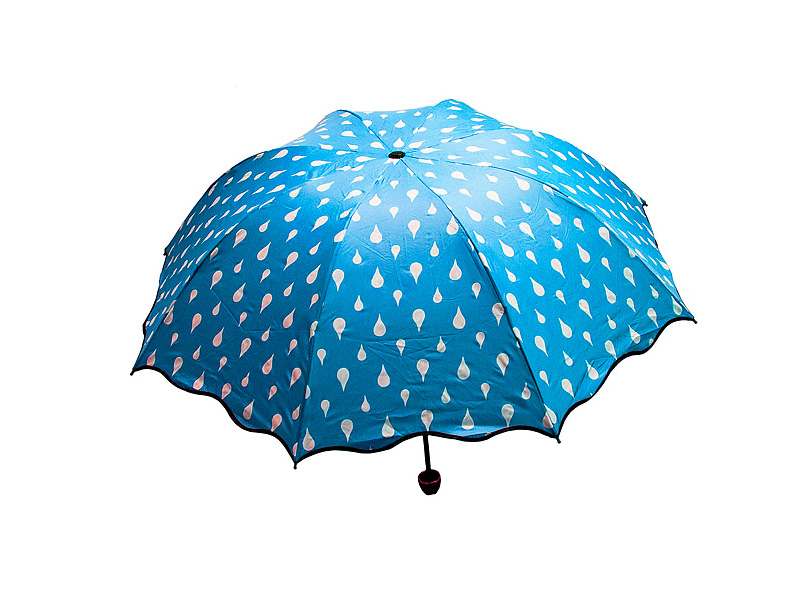 Зонт Эврика Хамелеон Капельки Blue 98778
