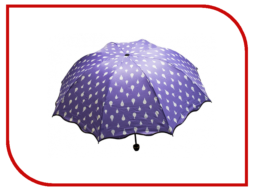 Зонт Эврика Хамелеон Капельки Violet 98775 зонт эврика 94861 white