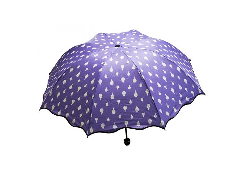 Зонт Эврика Хамелеон Капельки Violet 98775