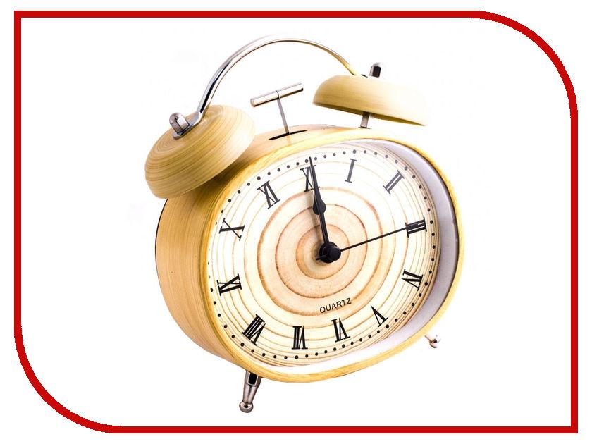 Часы Эврика Дерево 98682 - будильник